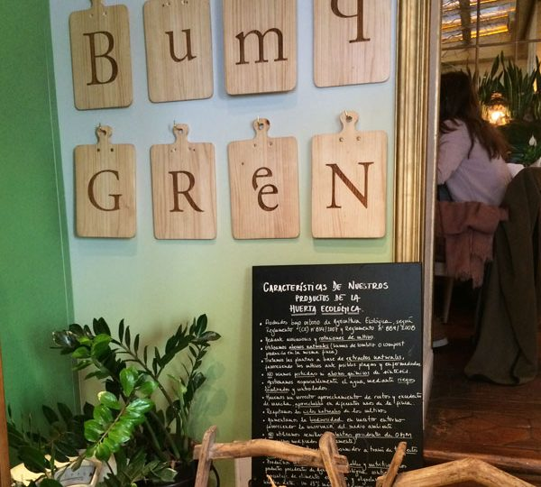 BUMP GREEN · FOOD WITH SPIRIT