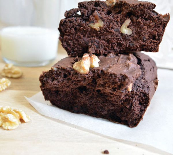 BROWNIE VEGANO DE TEFF